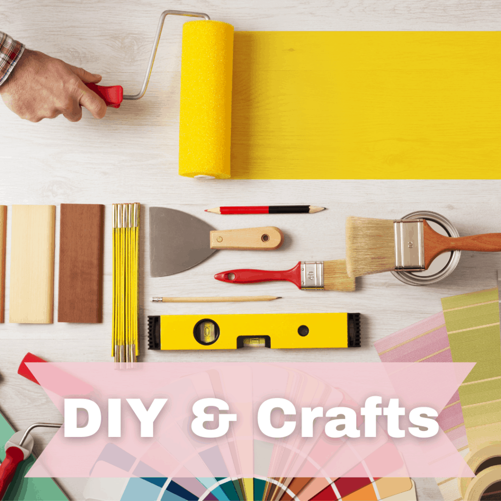 section image for DIY projects and crafts