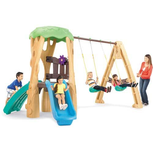 plastic swing set for toddlers