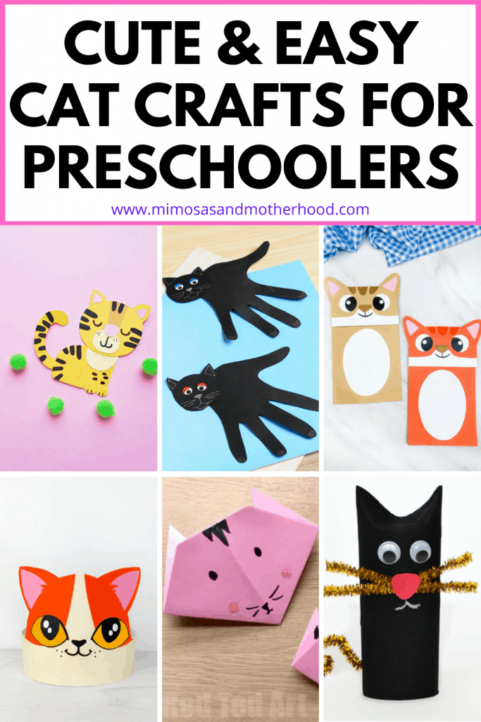 cute cat crafts for toddlers