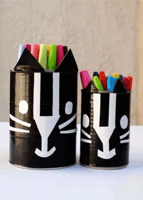 cat pencil holders