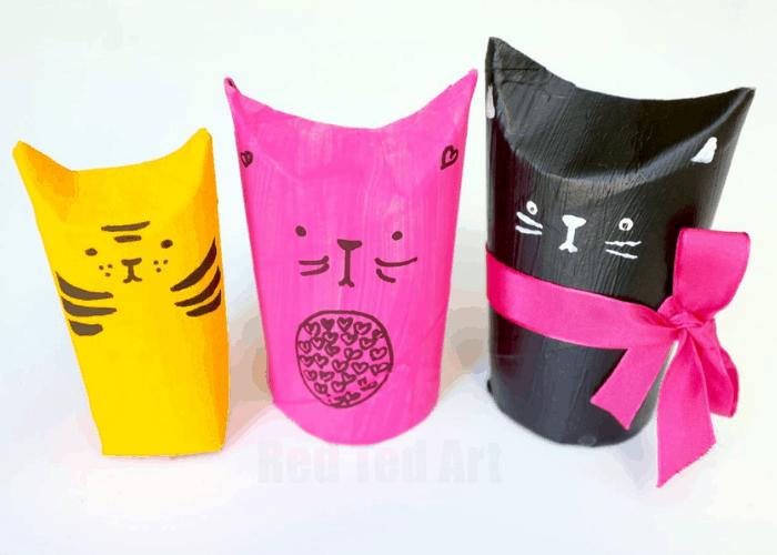 tp roll cat craft